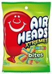 Airheads Xtremes Bites-Rainbow Berry-3.8 oz. Peg Bag