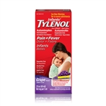 Infants Tylenol Suspension Grape - 2 Fl.oz.