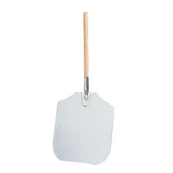 Aluminum Blade Pizza Peel with Wood Handle - 16 in. x 18 in.