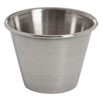 Polished Finish Stainless Steel Sauce Cup - 2.5 oz.
