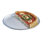 TP Series Wide Rim Pizza Pan Solid 18 Gauge Aluminum - 14 in.