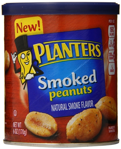 Planters Smoked Peanuts - 6 oz. on smoked pineapple, smoked pork, smoked turkey, smoked tuna, smoked salt, smoked beef, smoked onions, smoked nuts, smoked bacon, smoked avocado, smoked eggs, smoked tomato, smoked almonds,