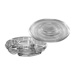 13 in. Round 4 Compartment Platter