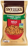 Snyders Of Hanover Fat Free Mini Pretzels - 16 Oz.