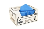 Pro-Quattm Medium Duty Blue Foodservice Towel - 13 in. x 21 in.