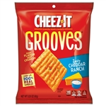 Cheez-It Grooves Zesty Cheddar Ranch Crackers - 3.25 oz.
