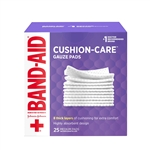 Johnson and Johnson First Aid Gauze Pads 25 Count - 3 in. x 3 in.