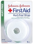 Johnson and Johnson First Aid Hurt Free Wrap - 1 in. x 2.3 Yards