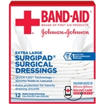 Johnson and Johnson First Aid Surgipad Dressng - 5 in. x 9 in.