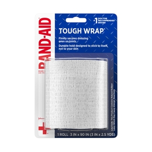 Johnson and Johnson First Aid Secure Flex Wrap - 3 in. x 2.5 Yards