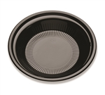 Deep Black Plate - 10.25 in.