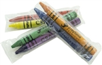 Primo Color Crayons 2 Pack Cello 6 Colors