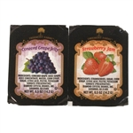 Jelly Assorted Cup 80 Strawberry Jam 120 Grape Jelly - 0.5 Oz.