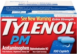 Tylenol Pm Extra Strength Caplets 48 Boxes of 100 Caplets