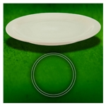 Dover American White Plate - 7.5 in.