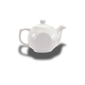 Alpine White Teapot - 14 Oz.