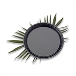 Conserve Round Tray Black - 12 in.