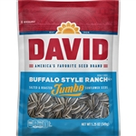 David Buffalo Ranch Sunflower Seeds - 5.25 Oz.