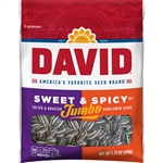 David Sweet And Spicy Jumbo Sunflower Seeds - 5.25 oz.