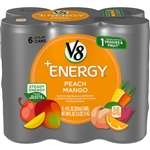 V8 V-Fusion Energy Peach Mango Beverage - 48 Fl. Oz.