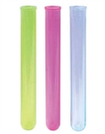 Neon Bull Crystal Shooter Tubes - 6 in.