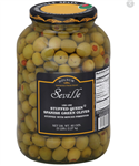 Stuffed Queen Olives - 21 oz.