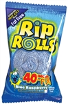 Rip Rolls Blue Raspberry - 1.4 oz.