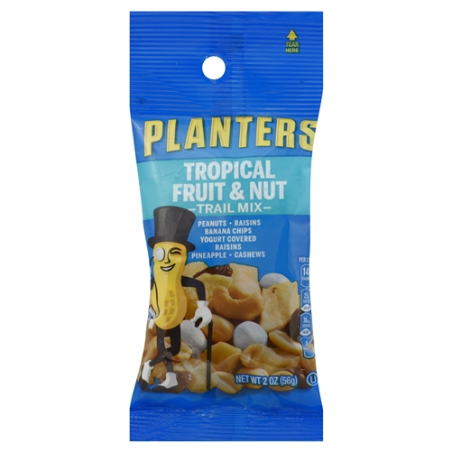 Planters Tropical Fruit And Nut Trail Mix - 2 oz. on diamond nuts, frito lay nuts, target nuts, kraft nuts, sam's club nuts,