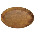 Woven Wood Plate - 12 in.