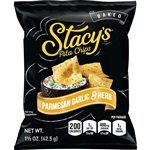 Stacys Parmesan Garlic and Herb Pita Chips - 1.5 oz.