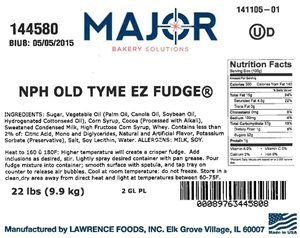Nph Old Tyme Ez Fudge 2 Gl Pl