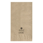 Kraft Recycled Earth Wise Dinner Napkin 2 Ply - 15 in. x 17 in.