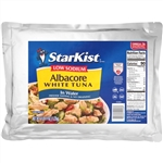 Albacore Tuna Low Sodium Pouch - 43 Oz.