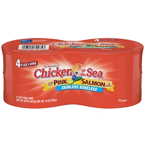 Pink Salmon Skinless Boneless - 20 Oz.