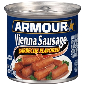 Armour Vienna Sausage Barbecue - 4.6 Oz.