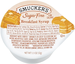 Breakfast Syrup Sugar Free - 1.1 oz.