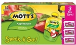 Motts Original Apple sauce Pouch  - 3.2 Oz.
