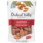 Almonds Raw Whole - 1.4 Oz.