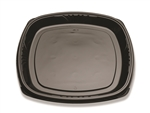 Plastic Flat Black Pearl Forum Tray - 16 in.