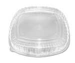Container High Dome Plastic Clear Forum Collection Cover Lid - 16 in.