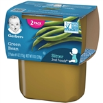 Gerber 2nd Foods Baby Food Green Beans - 8 Oz.