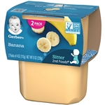 Gerber 2nd Foods Baby Food Banana - 8 Oz.