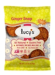 Lucys Ginger Snap Cookie Gluten Free - 1.25 Oz.