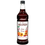 Monin Stone Fruit Syrup - 1 Ltr.