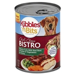 Kibbles N Bits Hearty Cuts With Beef Chicken And Vegetables - 13.2 Oz.