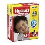 Huggies Baby Diaper Snug and Dry Tab Closure Size 5