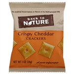 Crispy Cheddar Wheat Crackers - 1 oz.