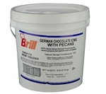 Icing German Chocolate Transmart Pail - 18 Lb.