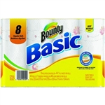 Bounty Basic Print Paper Towel 1 Ply Regular