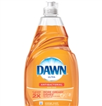 Dawn Dish Detergent Ultra Anti-Bacterial Orange - 21.6 Fl. Oz.